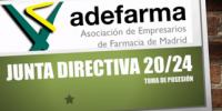 Juramento y Felicitaciones a la Junta Directiva de Adefarma 2020